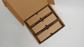 triple bottle shipping kit
