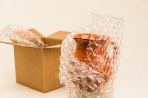 Bubble Wrap IB ships flat and stores flat